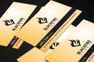 Blackfire-Business-Card-Template